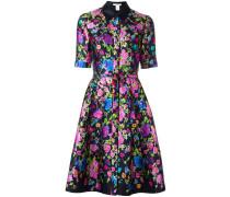 Hemdkleid mit Print - women - Seide/Baumwolle