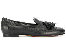 brogue tassle loafers