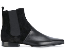 Chelsea-Boots mit Kontrasteinsatz