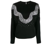 'Valia' Sweatshirt mit Pailletten