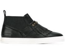 Sneakers mit Zierlasche