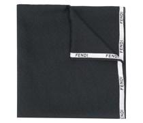 Schal mit Logo-Borte