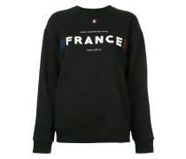 "Sweatshirt mit ""France""-Print"