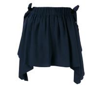 - scalloped handkerchief shorts - women
