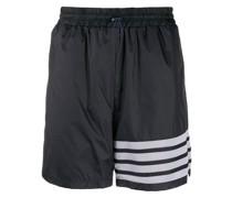 Ripstop-Shorts mit Streifen