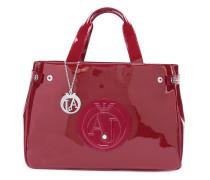 Mittelgroße Handtasche mit Logo-Stempel