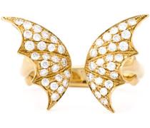 Großer 'Crystal Haze' Ring aus 18kt Gold