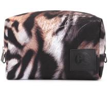tiger stripe wash bag