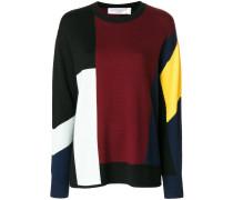 Pullover mit Farbeinsätzen