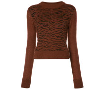 Pullover mit Animal-Print - women