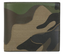 Portemonnaie mit Camouflagemuster
