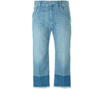 Zweifarbige 'Pryam' Jeans
