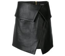 asymmetric foldover skirt