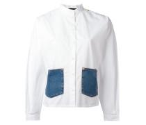 Hemd mit Jeanstaschen