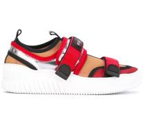 Sneakers mit Colour-Block-Optik - Unavailable