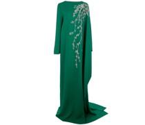 Drapiertes Abendkleid