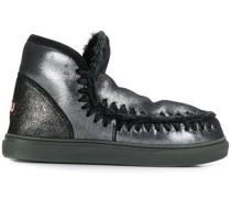 Eskimo-Stiefel im Metallic-Look