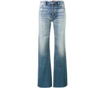 Jeans mit ausgestelltem Bein - women