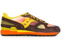 Low-Top-Sneakers mit Kontrasteinsätzen