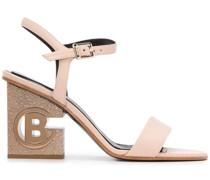 Sandalen mit Logo, 90mm