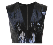 sequin cropped top  Unavailable