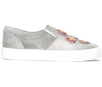 Verzierte Slip-On-Sneakers - women