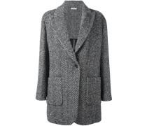 Oversized-Jacke mit steigendem Revers - women
