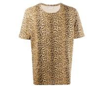 T-Shirt mit Leoparden-Print