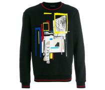 """Sweatshirt mit """"JP Collage""""-Print"""