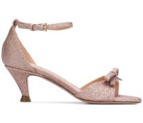 'Andalo' Sandalen in Glitter-Optik