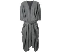 belted oversized cardi-coat