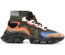 Sock-Sneakers mit Einsätzen