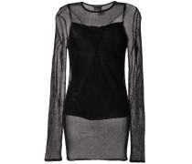 Pullover mit Sheer-Effekt