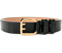 Icon buckle belt