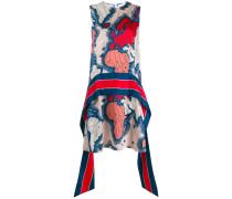 Kleid mit Landkarten-Print