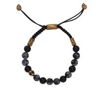 Armband mit Onyx-Perlen