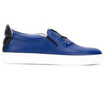 Sneakers mit Applikationen - men - Leder/rubber