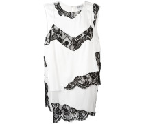 layered lace insert top