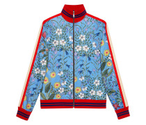 'New Floral' Jersey-Jacke
