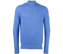 Pullover mit Reißverschlussdetail