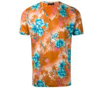 - T-Shirt mit tropischem Print - men