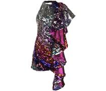 Verziertes Kleid mit Volant