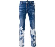 'Sexy Bootcut' Jeans mit Stone-Wash-Effekt