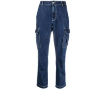 P.A.R.O.S.H. Gekürzte Jeans