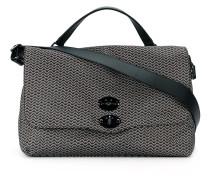 Große Handtasche mit Zickzackmuster