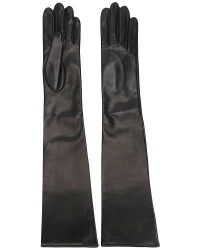 Lange Lederhandschuhe