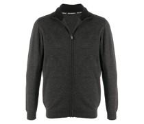 zip-up wool jumper