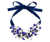 P.A.R.O.S.H. Kurze Halskette mit floralen Verzierungen