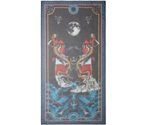 Schal mit Meerjungfrauen-Print