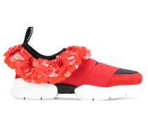 Sneakers mit Paillettenstickerei